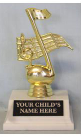 trophy award for music ladder