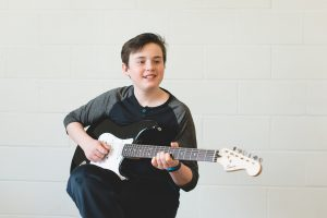 Guitar student from picture day
